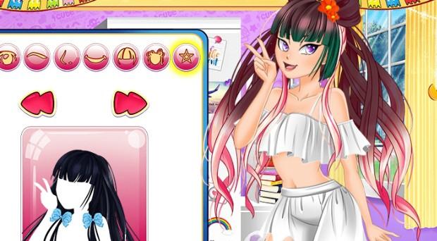 Jogo Manga Girl Avatar Maker
