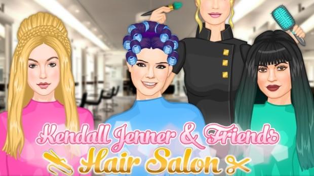 kendall hair