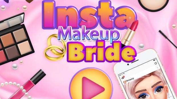 insta makeup bride