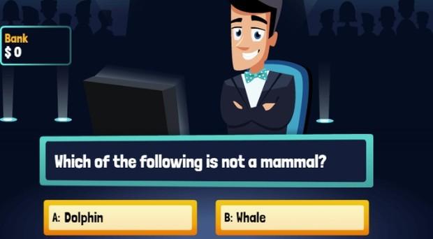 Jogo Millionaire Quiz