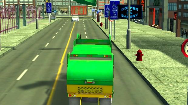 Jogo Trash Truck Simulator