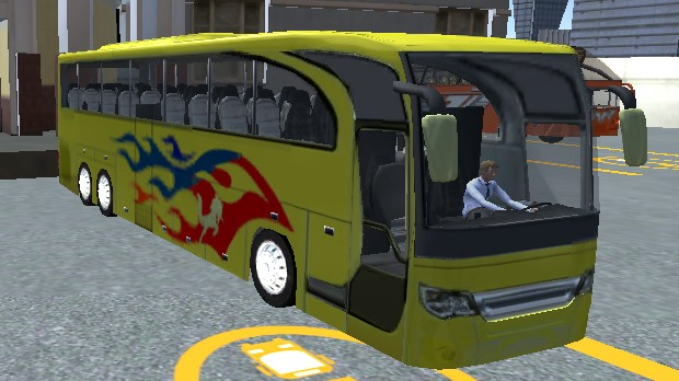 Jogo Intercity Bus Driver 3D