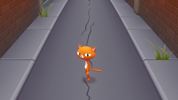 Jogo Cat Run