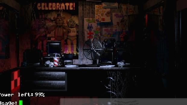 Jogo Five Nights at Freddy's
