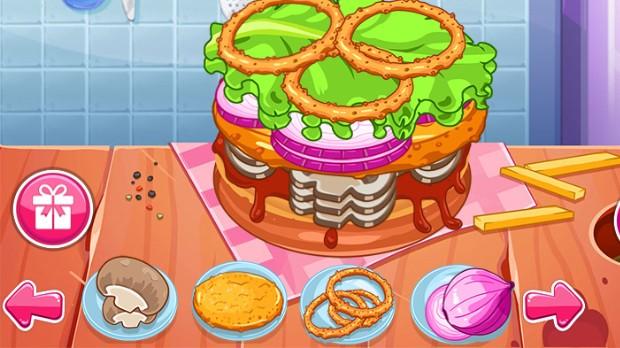 Jogo Biggest Burger Challenge