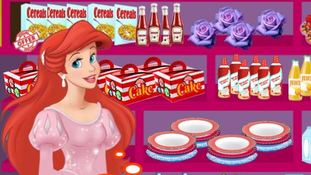 Jogo Ariel Cooking Wedding Cake