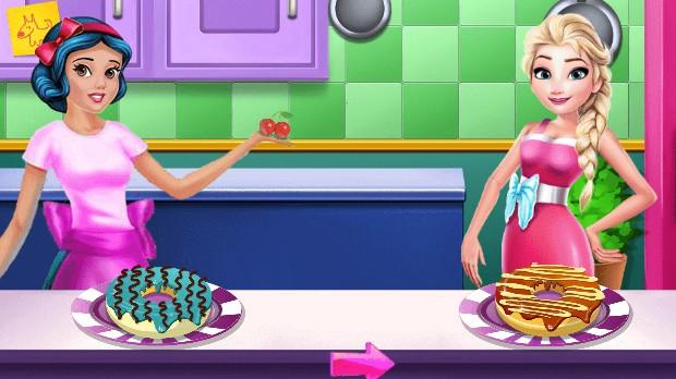 Jogo Princess Cooking Contest
