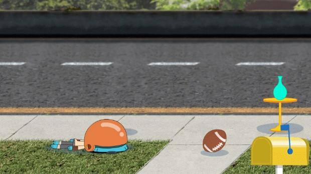 Jogo Gumball: Corra como o Vento!