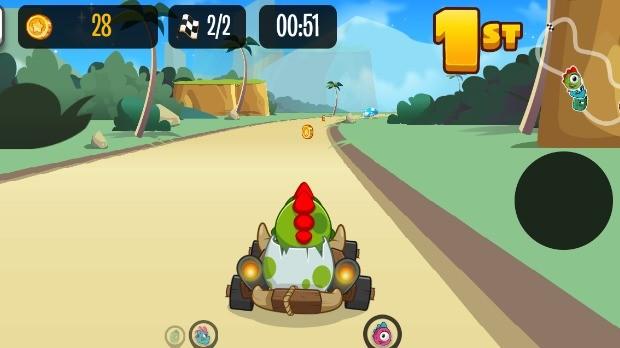 Jogo Kizi Kart Racing