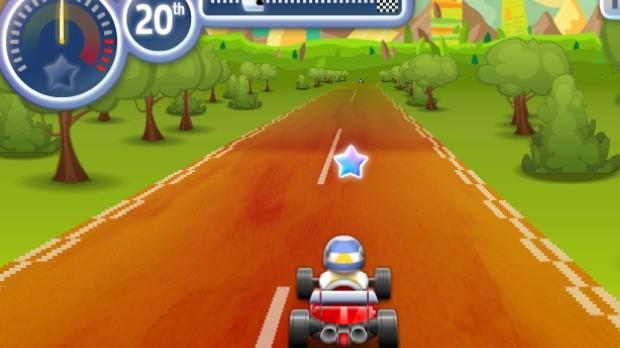 Jogo Super Sprint Karts
