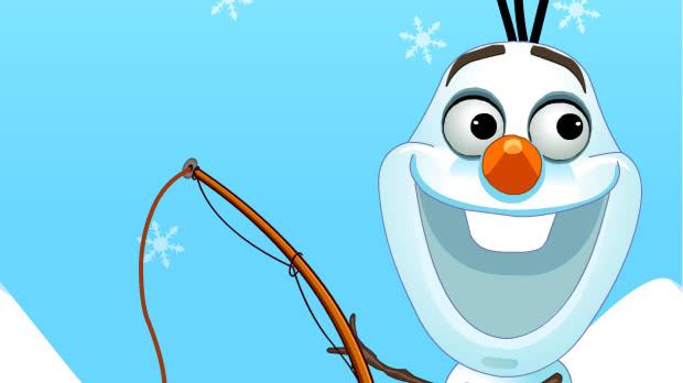 Jogo Frozn Olaf Fishing Time