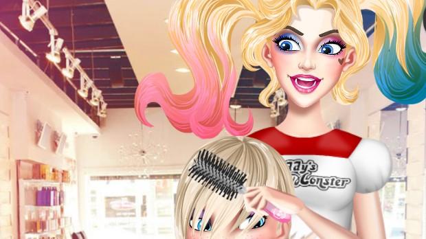 Jogo Harley Quinn Hair and Makeup Studio