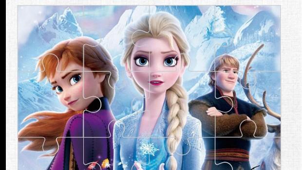 Jogo Frozen 2 Jigsaw
