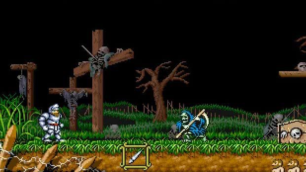 Ghouls and Ghosts Mega Drive