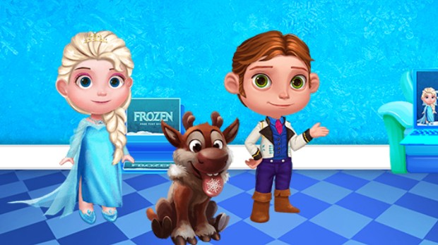 Jogo Ice Princess Doll House