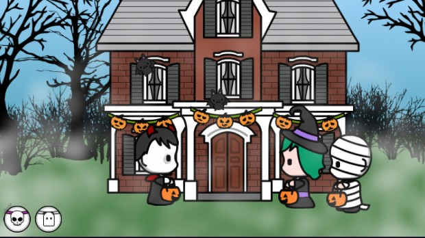 jogo Halloween House Maker