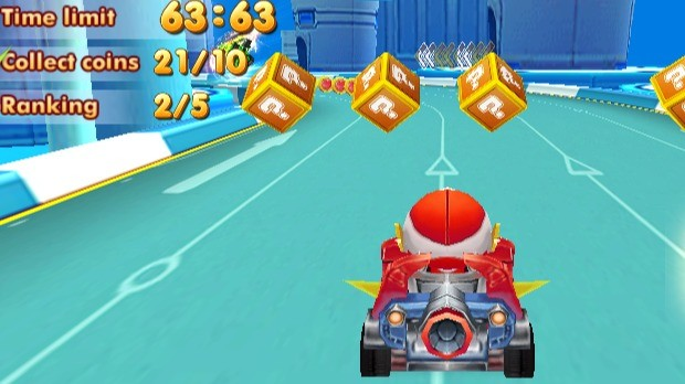 Jogo Cartoon Racing 3D