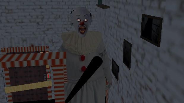 Jogo Scary Granny Clown