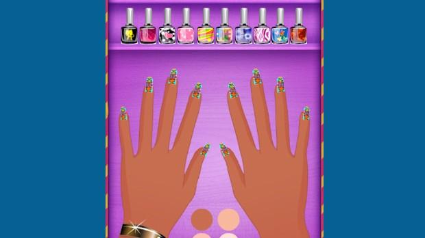Jogo Manicure Salon