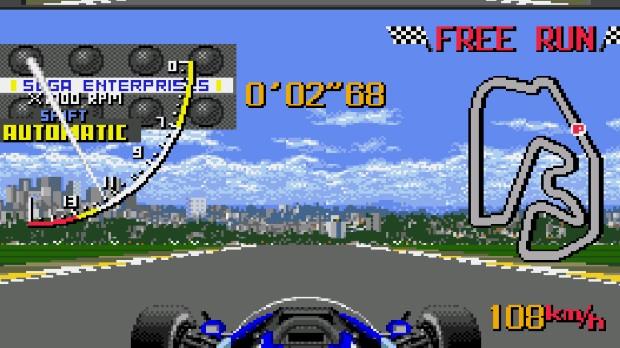 Jogo Ayrton Senna's Super Monaco GP
