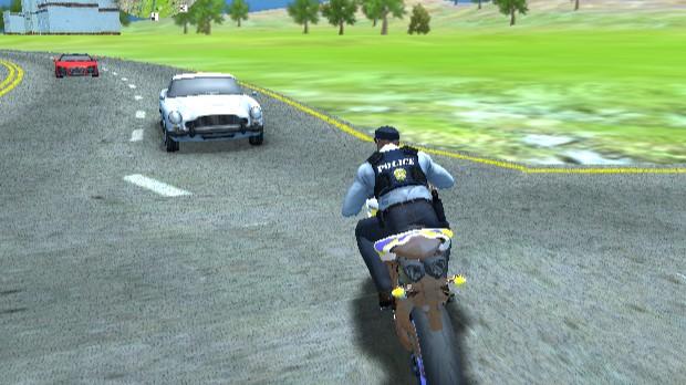 Jogo Police Motorbike Driver