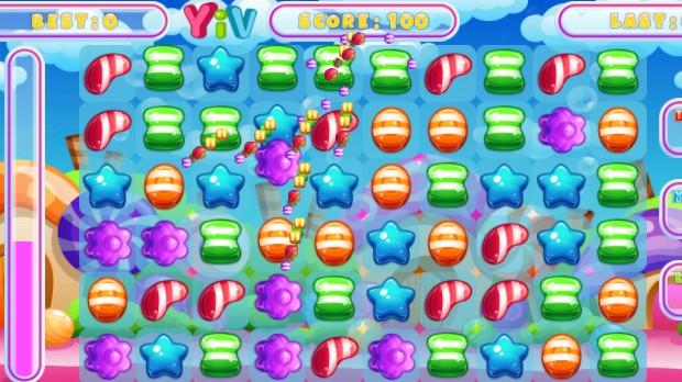 Jogo Candy Match Saga