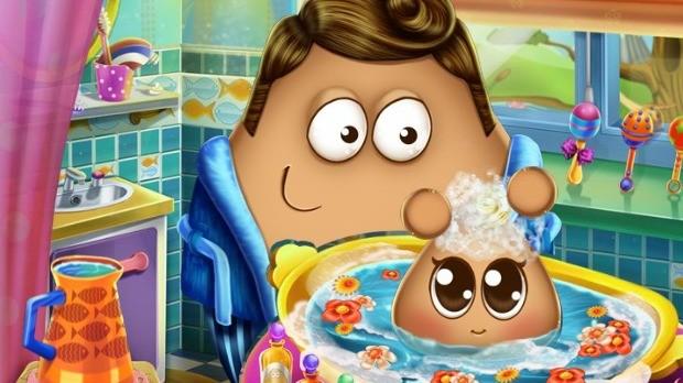 Jogo Pou Baby Wash