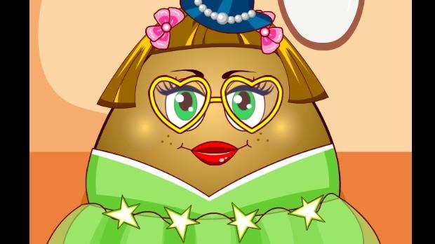 Jogo Pou Girl Dress Up