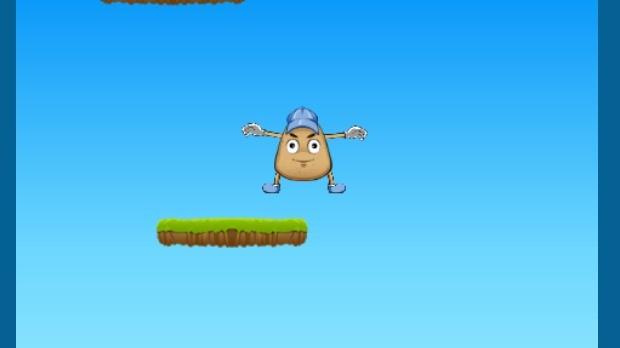 Jogo Pou Jump Adventure