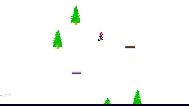 Jogo Ski Free