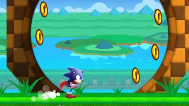 Jogo Sonic Run