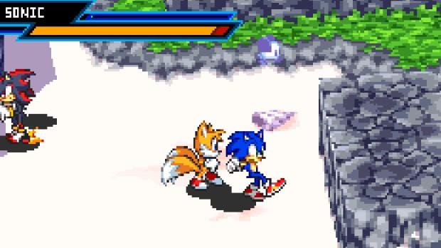Jogo Sonic Battle