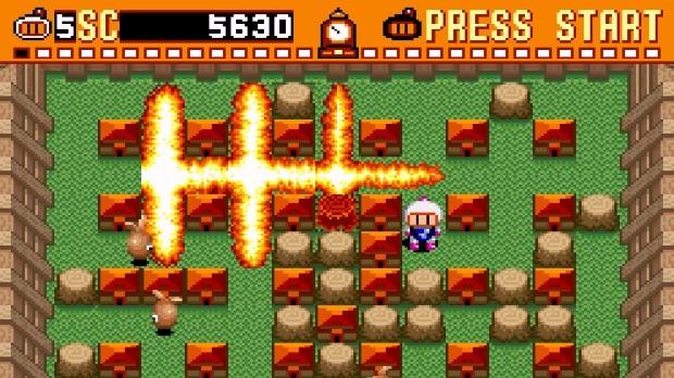 Jogo Super Bomberman