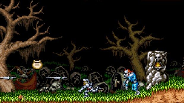 Jogo Super Ghouls and Ghosts