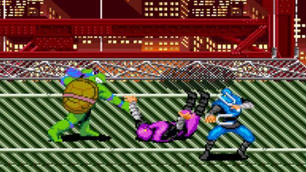 Jogo Turtles in Time