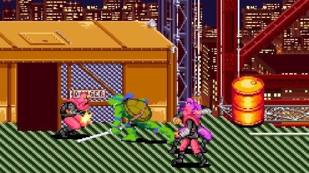 Jogo Turtles IV: Turtles in Time