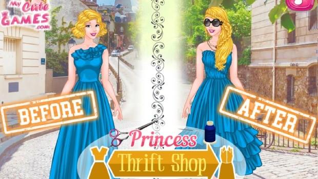 princesses thrift