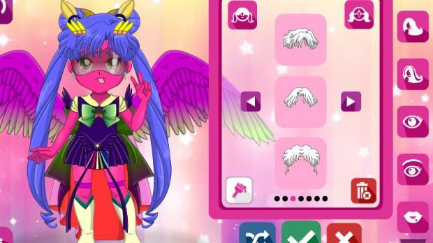 Jogo Sailor Girls Avatar Maker