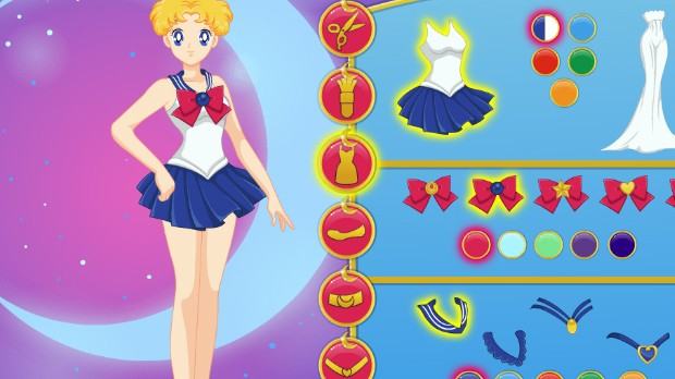 Jogo Sailor Moon Creator