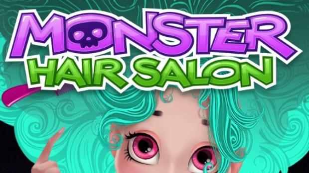 monster high hair salon