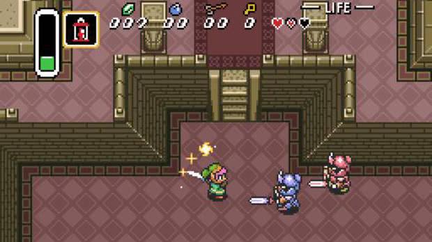 Jogo Zelda: Link to the Past